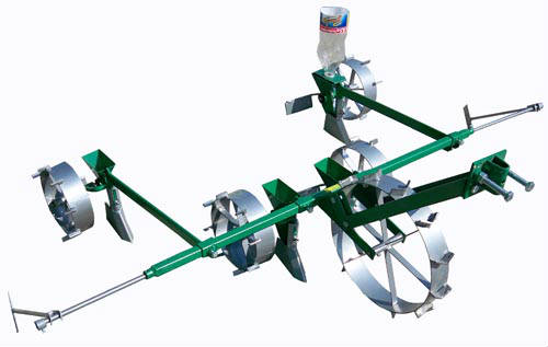 SMT-4 precision sowing seeder for motor cultivator