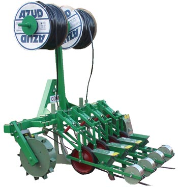 SOM-4 seeder for small seeded vegetables